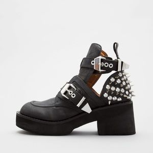 Jeffrey Campbell Spiked Coltrane Boot